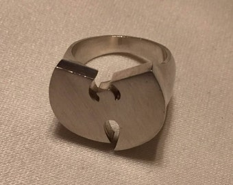 Wu-Tang Clan sterling silver ring