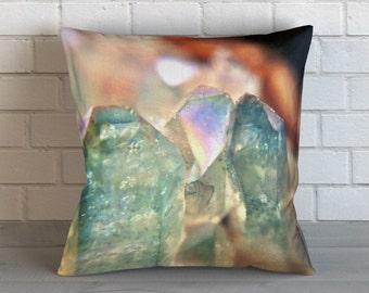 Macro Crystals Pillow