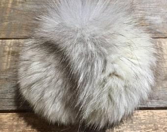 Pompom - Norwegian Fox recycled fur
