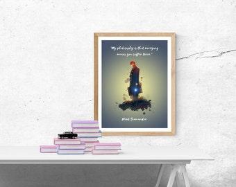 Art Print Newt Scamander A4 Poster