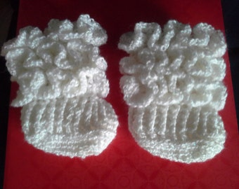 frayed baby boots