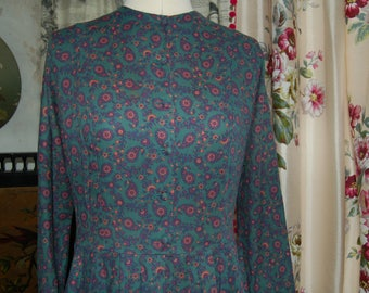 Laura Ashley vintage dress 10-12