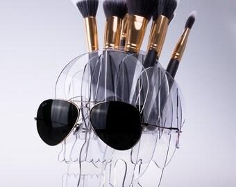makeup organizer brush holder cosmetics organizer gift for her