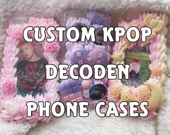 Custom Kpop Decoden Phone Case, Whip Case