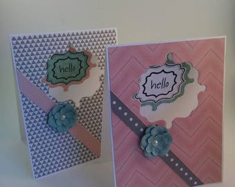 Hello Card, Just Because Card, Any Occasion Card