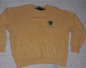 vintage CHAPS RALPH LAUREN embroidered sweatshirt size M