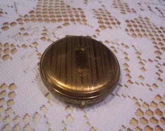 Brass Mirror Compact, Elgina
