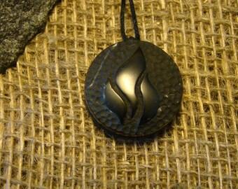 "Shungite pendant ""Fire"" from Karelia mascot."
