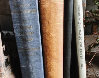 Old Books - All Poetry, Prose & Verse