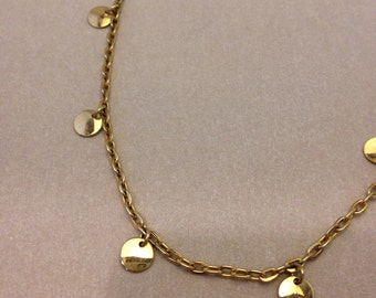 Vintage Golden Danglies Necklace