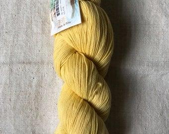 DESTASH Cascade Heritage Sock Yarn Lemon