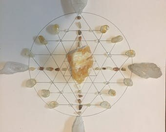 Motivation crystal grid