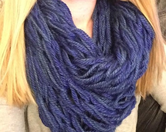 Double-Stranded Infinity Scarf