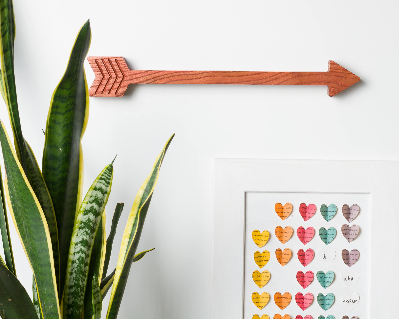 Arrow decor, Wall decor, Home decor, Wooden arrow decor, Wood decor ...