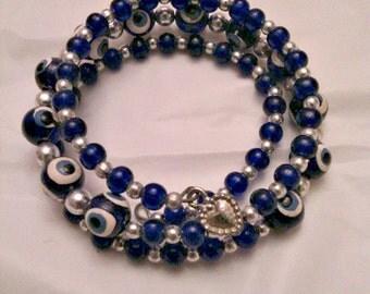 Bracelet of Greece * evil eye