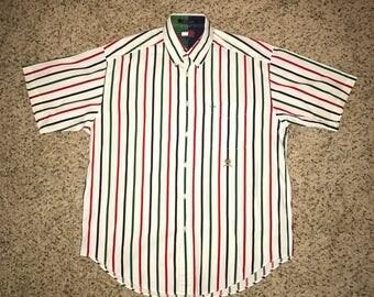 Tommy Hilfiger Striped Button Down Size M