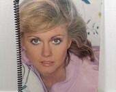 Olivia Newton-John Album Cover Notebook Handmade Spiral Journal