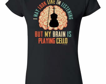 My Brain Is Playing CELLO Instrument