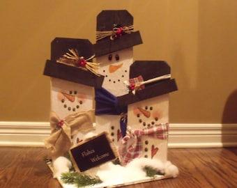 Custom Wood Holiday Decor