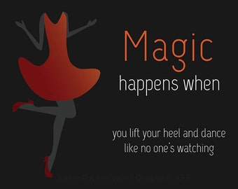 Magic Happens when you Dance! Poster