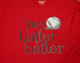 Baseball tee-Hey Batter Batter