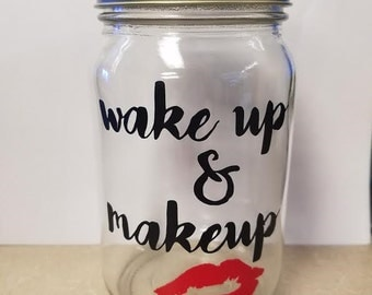 wake up & makeup