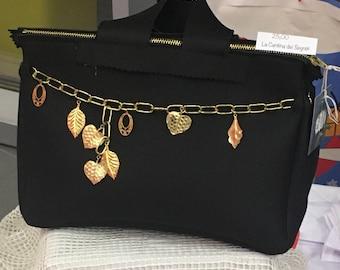 Black neoprene bag
