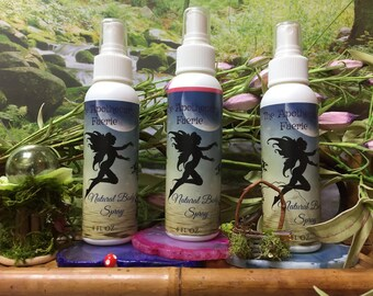 All Natural Vegan Body Mist and Spray THREE different kinds YOU PICK Scent