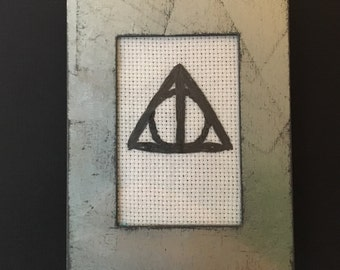Framed Deathly Hallows Symbol from Harry Potter