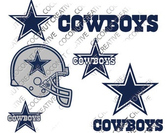 Dallas Cowboy svg dfx jpg jpeg eps layered cut cutting files cricut silhouette die cut decal vinyl