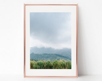 Landscape Photography, cloudy, asia, Bali, Download Digital Photography, Print, Downloadable Image, Printable Art, Artwork