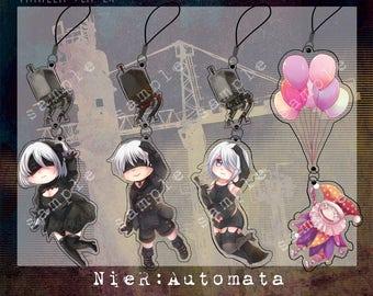 NieR Automata Phone straps