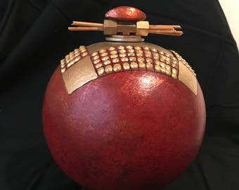 Handmade Gourd Vessel