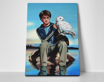 Harry Potter Owl Poster Limited Edition 24x36 Poster | Harry Potter Owl Canvas