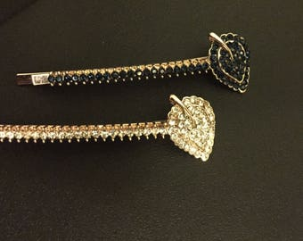 Beautiful Rhinestone Hair Clip