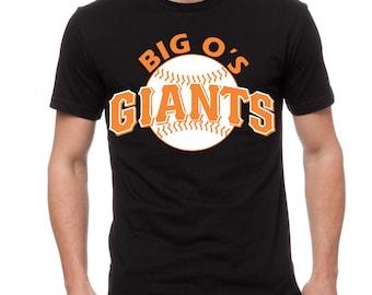 Big O's Giants Baseball Tee