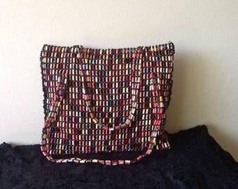 Multi Color Bead Bag