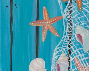 Starfish Dock - Canvas Painting