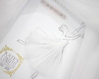 102 White Tulle Fabric, Tulle Material Wholesale, Soft Luxury Wedding Dress Tulle Fabric Tutus, Fabric For Tutu, Diy Tutu - 3m width