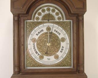 Vintage Taylor Barometer Thermometer Wall Hung Desktop Weather Station