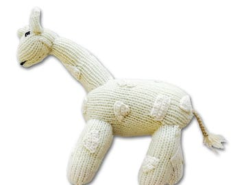 Cashmere Giraffe for Babies + Little Ones-Handmade Baby Gift. Made at a Women's Center,Nepal-Proceeds support education for Nepali children