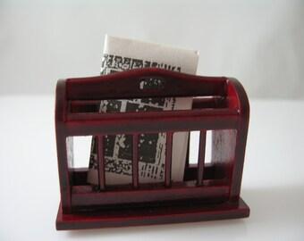 Miniature Magazine Newspaper Holder