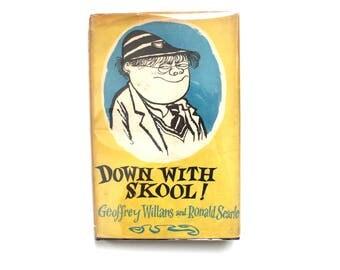 Down with Skool! Vintage Children's Book