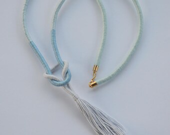 Rope Necklace with Tassel