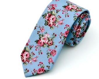 Beautiful Floral Print Ties