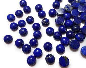 AAA Quality Lapis Lazuli cabochon,6 mm/ 8 mm/ 10mm ,Lapis Lazuli smooth cabochon. tiny gems, Tiny Cab, Superb gems for Jewellery