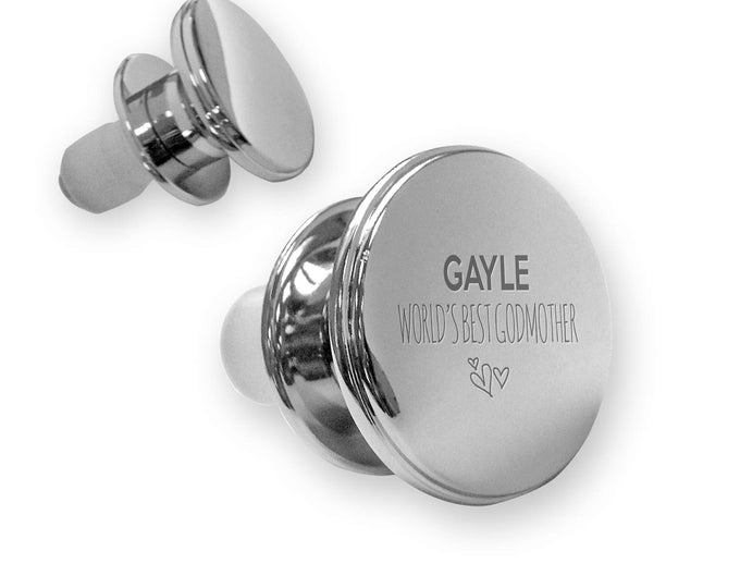 Personalised engraved World's best GODMOTHER deluxe wine BOTTLE stopper gift idea, mirror polish - FM7