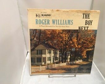 "Roger Williams The Boy Next Door 33 12"" Vinyl"