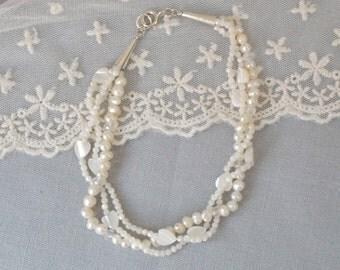 Multi strand bracelet