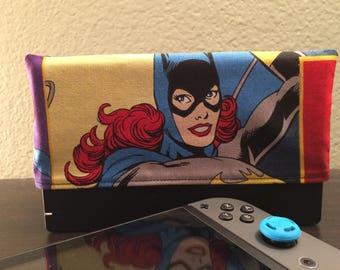 Batgirl Dock Sock for Nintendo Switch